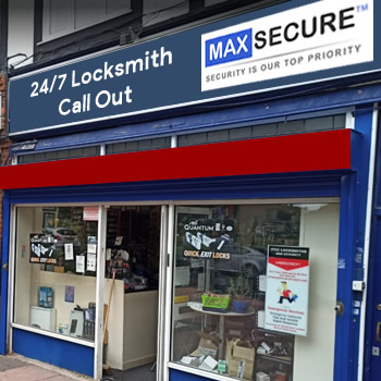 Locksmith store in Shoreditch